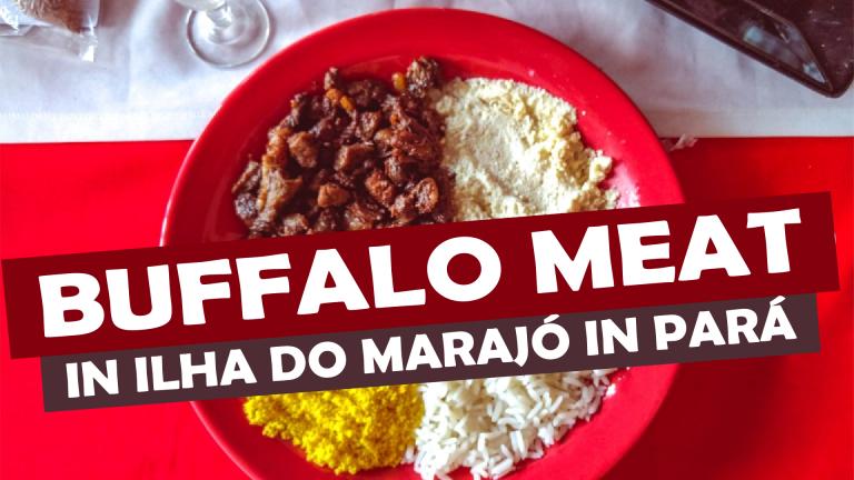 Read more about the article BUFFALO MEAT IN ILHA DO MARAJÓ (MARAJO ISLAND)